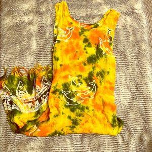 DOMINICAN REPUBLICAN BOHEMIAN MAXI DRESS